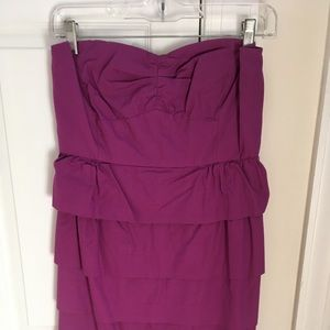 J Crew - strapless dress
